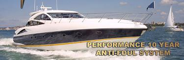 Performance 10 Year Anti-Fouling Coating System for Powerboats